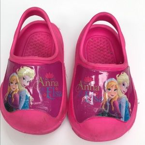 Other - Frozen Crocs size 5/6 toddler